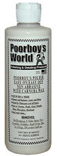 Poorboys Polish with 100% Carnauba Wax, All in One AIO  FREE UK P&P BRAND NEW