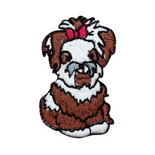 Id 2809 Havanese Bichon Companion Pet Dog Embroidered Iron On Applique Patch