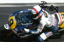 Roger Burnett Hand Signed Rothmans Honda 6x4 Photo 1.