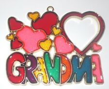 GRANDMA SUNCATCHER (A GREAT MOTHER'S DAY/BIRTHDAY GIFT FOR A NANA/GRANDMOTHER)