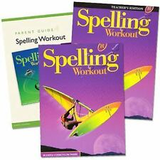 Spelling Workout Homeschool Bundle, Level H (2011, Paperback / Stapled)