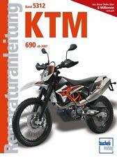KTM 690 Modelle Enduros Reparaturanleitung Reparaturbuch Reparatur-Handbuch Buch