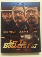 Let the Bullets Fly (Blu-ray/DVD, 2-Disc Set) Brand New Fast Ship