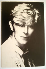 CPA DAVID BOWIE CARTE POSTALE