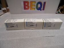 Siemens 3SB3403-1PA Lamp Holder Indicator 24V ac/dc LED   Yellow NIB Lot of 30