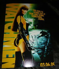 "MALIN AKERMAN Authentic Hand-Signed 11x17 ""Silk Specter Watchmen"" Photo/Poster"