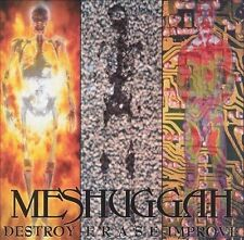 Destroy Erase Improve by Meshuggah (1995, Nuclear Blast) CD & PAPER SLEEVE ONLY