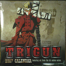 Trigun 2007 Anime Calendar/Vash The Stampede/Wolfwood/Meryl & Milly/Knives