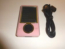 MICROSOFT  ZUNE  PINK  CUStOM  80GB...NEW  HARD DRIVE...