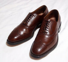 Allen Edmonds Boulevard Chestnut Wingtips, 9 1/2C. Worn Once. Mint. $395