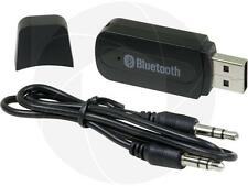 Wireless Bluetooth Music Receiver Dongle with 3.5mm Aux Audio Cable Car Stereo