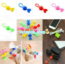 2Pc Love Shape Silicone Bag Clip Food Sealing Strong Clip Kitchen Beam Cable Tie