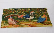 Vintage Beautiful Scene Needle Point Tapestry 49x109cm T837