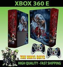 XBOX 360 E BAYONETTA WITCH STICKER SKIN & 2 PAD SKIN