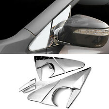 Chrome Side Mirror Holder Bracket Molding Cover For HYUNDAI 2010-15 Tucson ix35