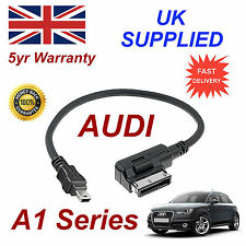 AUDI A1 Series AMI MMI 4F0051510H MP3 TELÉFONO MINI USB Cable de recambio