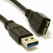 0.5m USB 3.0 SuperSpeed A Male to 10 pin Micro B Male Cable BLACK 50cm [007205]
