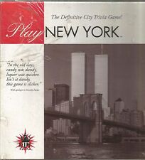 PLAY NEW YORK The Definitive City Trivia Game! NEW SEALED BOX