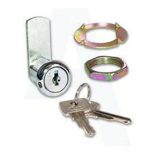 Asec AS6608 Keyed to Differ 5 Pin Nut Fix Camlock Chrome Plated 27mm