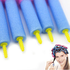 12pc Women Sponge Foam Curler Maker Bendy Twist Curl Tool Styling Hair Roller UK