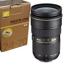 Nikon AF-S NIKKOR 24-70mm f/2.8G ED Zoom Lens made Japan Fedex to USA