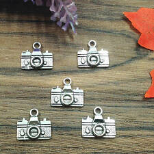 Tibetan Silver,Charms Alloy Pendants bead fit necklace,10pcs camera,14*15mm