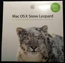 Brand New Sealed Apple Mac OSX 10.6.3 Snow Leopard - Full Retail Version English