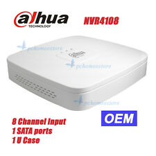 Dahua OEM DH-NVR4108 NVR 8CH Channel Smart Mini 1U Network Video Recorder
