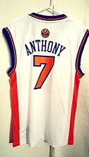 Adidas NBA Jersey Knicks Carmelo Anthony White sz M