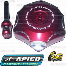 Apico Red Alloy Fuel Cap Breather Pipe For Honda CRF 250X 2007 Motocross Enduro