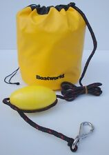 Jetski PWC Dinghy Canoe Boat Sand Anchor c/w Buoy s/s snap hook 8ft rope HD bag