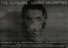 20/11/93PGN15 THE AUTEURS : LENNY VALENTINO SINGLE ADVERT 7X11""