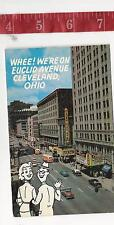vintage Post Card Whee we're on Euclid Avenue Cleveland Ohio FREE SHIPPING