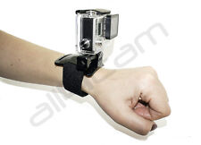 Wrist Strap Mount fits GoPro Hero 2, 3, 3+, 4 5 Accessories Black Band
