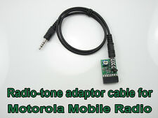 Radio-tone Repeater Cable for Motorola CDM1250 GM300 GM3188 SM50 SM120 CDM750