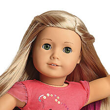 "American Girl ISABELLE 18"" Doll Hair Extensions Book + 2014 Holiday Catalog"