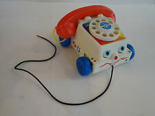 Mattel 2009 CLASSIC TOY Fisher Price CHATTER PHONE Pull Toy
