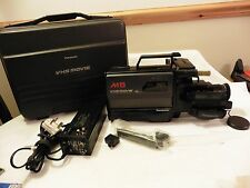 Vintage 80s Panasonic M5 Camcorder FULL SIZE VHS TAPE MOVIE Video camera NV-M5B