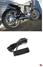 WHITE LED TAG LIGHT FENDER ELIMINATOR LED LICENSE PLATE LIGHT MOTORCYCLE Cafe X