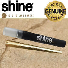 Shine Papers 24k Gold Pre Rolled Cone X 1 - ❤ Free Uk Postage ❤ ☆100% Genuine ☆