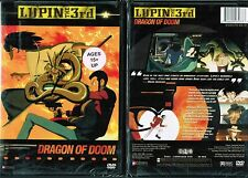 Lupin 3rd Dragon of Doom DVD New Anime