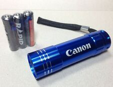 Canon LED Flashlight - BLUE Aluminum - New
