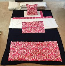 Charter Club Twin Size Pink/White/Black Bedding Set - 8 Piece - REDUCED
