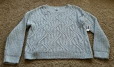 NWT Old Navy Sweater size XL extra large - mint green/Lofty Wool Cable Sweater