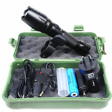 CREE XM-L T6 USB LED Zoomable 2500Lm 18650 Rechargeable Battery Flashlight Torch
