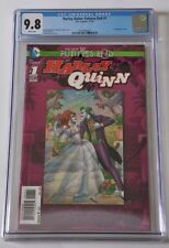 HARLEY QUINN FUTURES END #1 CGC 9.8 3D COVER DC Comics