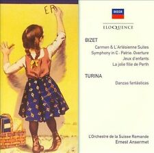 Bizet: Suites; Symphony in C; Turina: Danzas Fant sticas (CD, Mar-2010, 2...