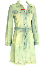 NEW MISS SIXTY ITALY ACID WASH DENIM COAT JACKET S 4 6 8 10 $300 WOMEN JEANS