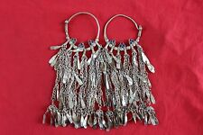 Afghan kuchi Banjara Tibet Antique Tribal Tradition Vintage Nomad Beauti Earring