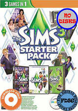 The Sims 3 Starter Pack (PC&Mac, 2013) Origin Download Region Free